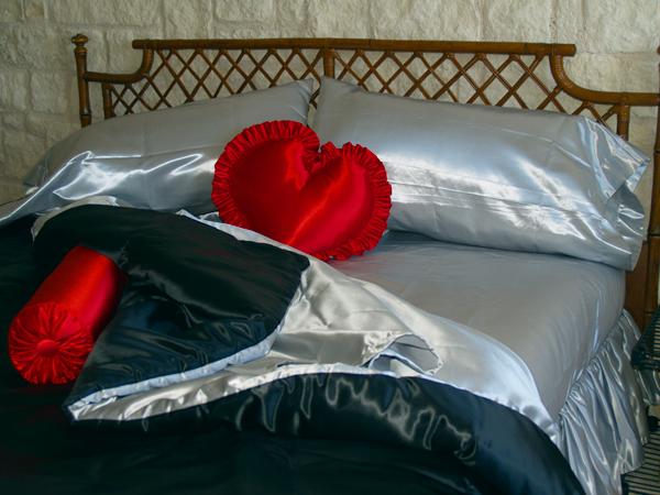 Linen Superstore | Bridal Satin | Bed Ensemble