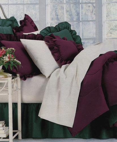 Linen Superstore   300 TC 100% Cotton Sateen   Waterbed Comforters