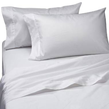 Linen Super 200 Tc 50 Poly Cotton Percale Waterbed Sheets