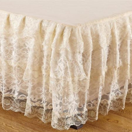 Linen Superstore | Lace | Bed Skirt