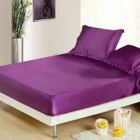 Linen Superstore | Bridal Satin | Conventional Fitted Sheet Only