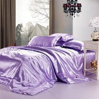 Linen Superstore | Bridal Satin | Deep Pocket Conventional Sheet Set