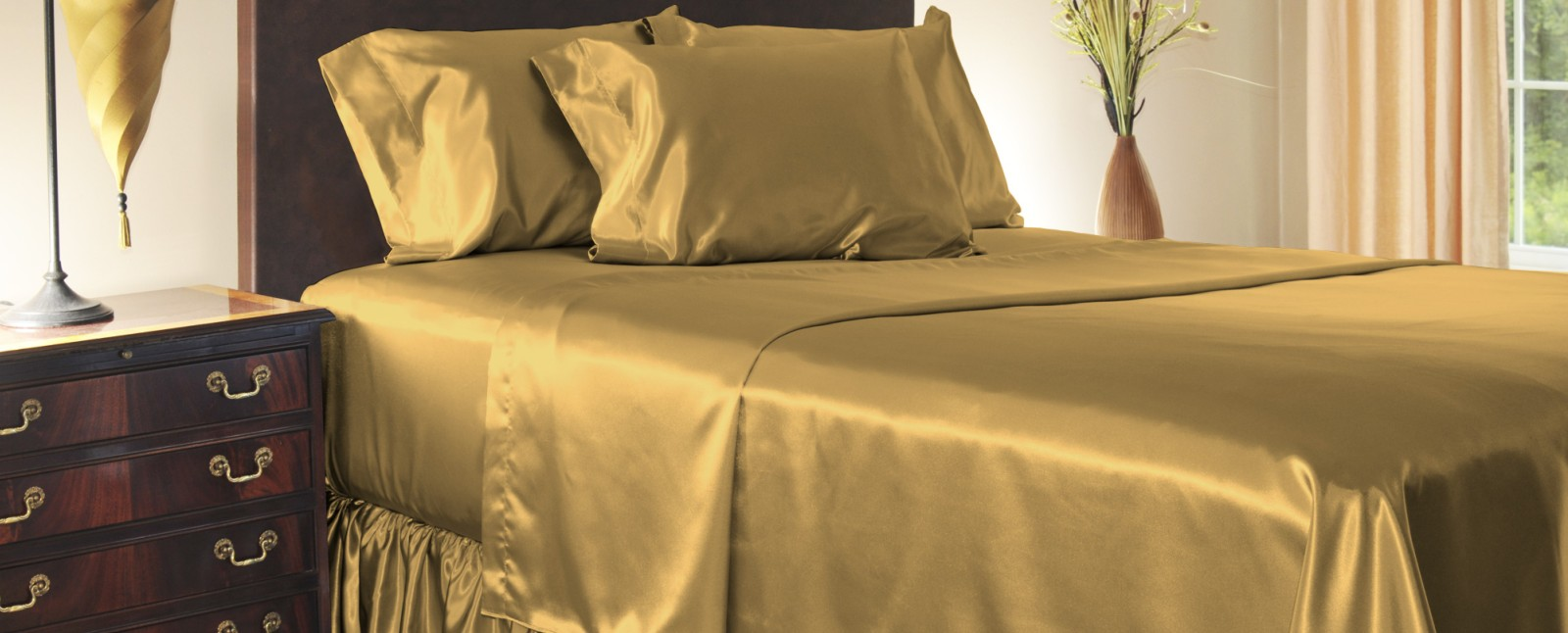 Bridal Satin Bedding
