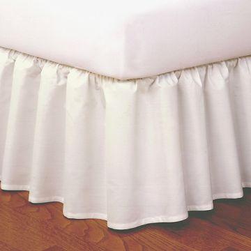 Linen Superstore | 300 Thread Count | Bed Skirt